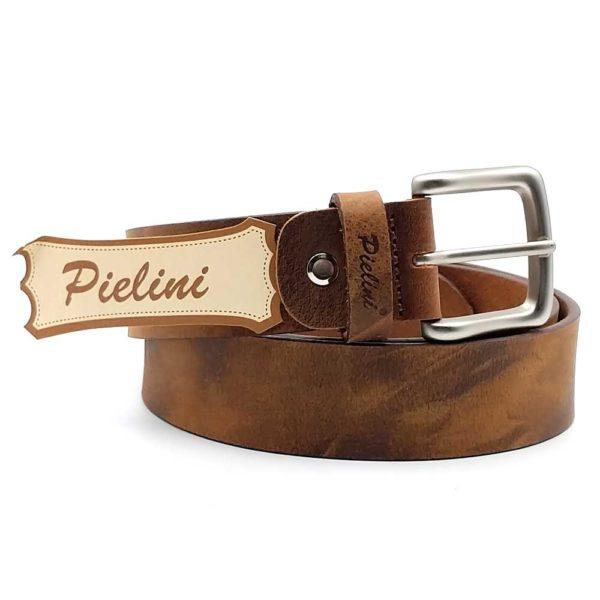 cinturon de piel modelo 411-35claro