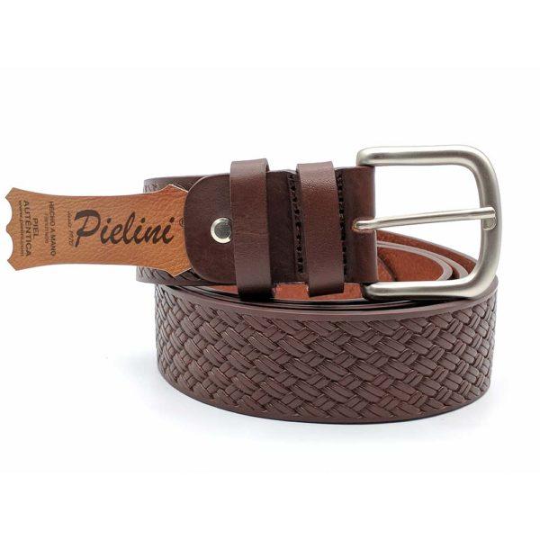 Cinturón de piel de Vaquetilla 416-40 marrón