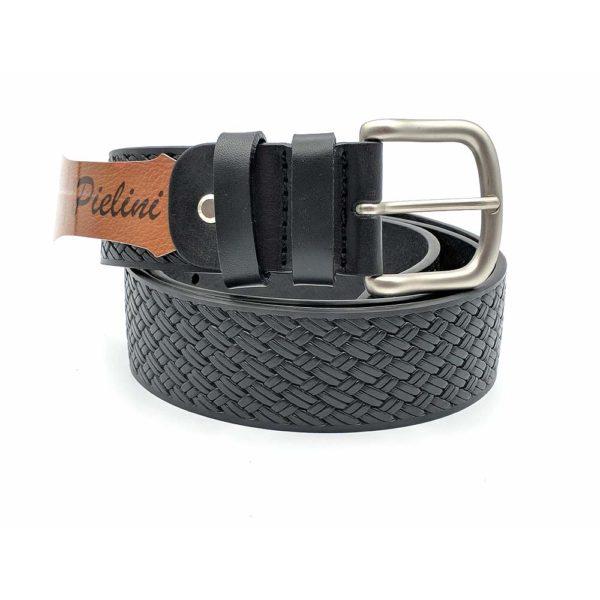 Cinturón de piel de Vaquetilla 416-40 negro