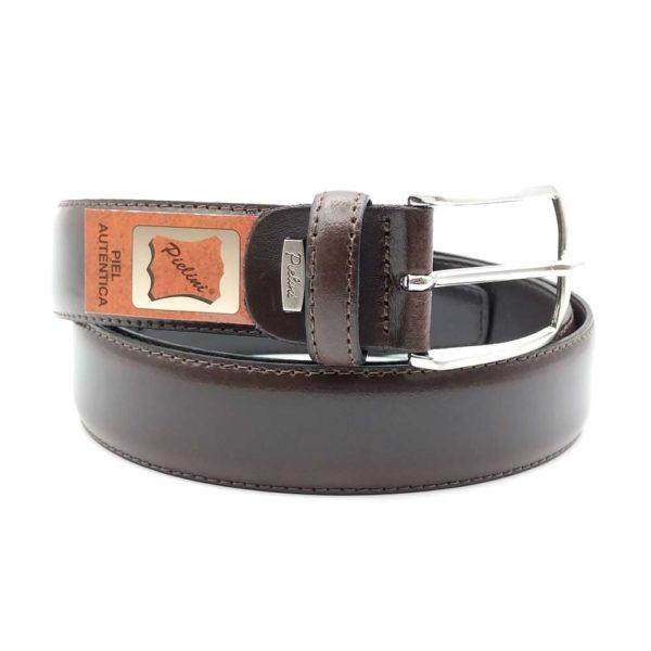 cinturón de vestir para hombre modelo 7005-35 marrón