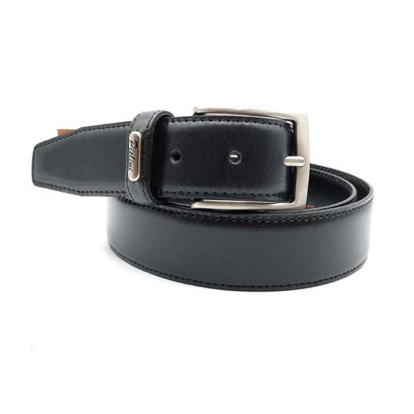 cinturón de piel pielini modelo 7005-35 negro