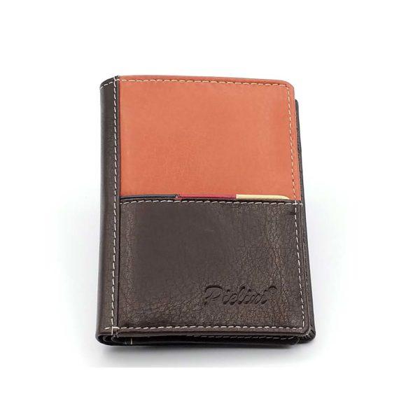 billetera de piel para hombre modelo 3121m