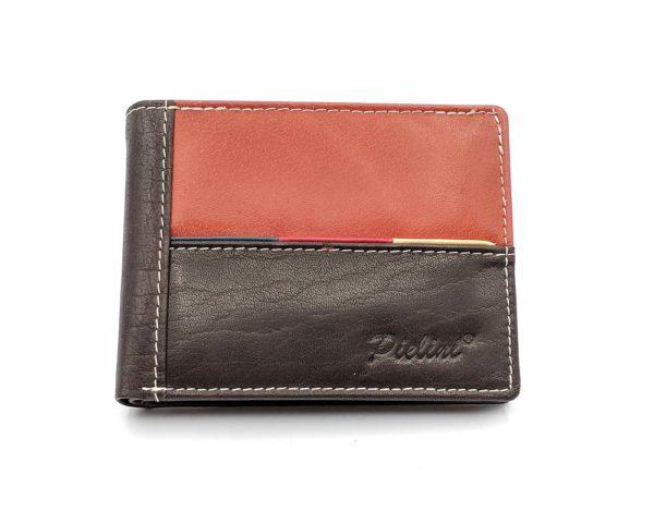 billetera de piel para hombre modelo 3122m