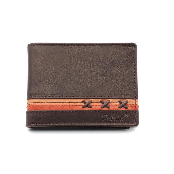 billetera de piel para hombre modelo 3160m