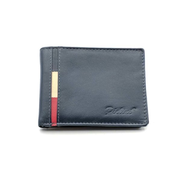 billetera de piel para hombre modelo 3707a