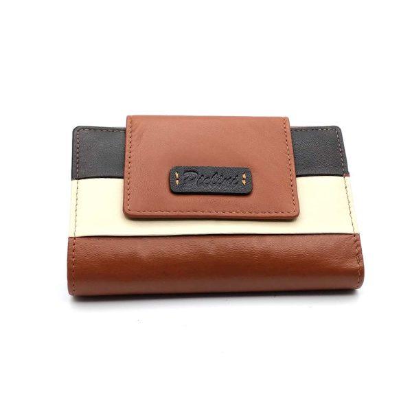 cartera de piel para mujer modelo 4057cg